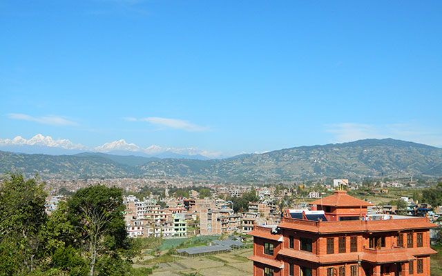 5. Bhaktapur Paradise Hotel Close Up View From A 30 Meters Distance