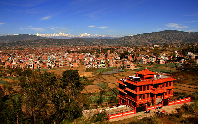 6. Bhaktapur Paradise Hotel Close Up View From A 30 Meters Distance